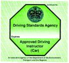 Driving Standards Agency Approved Instructors